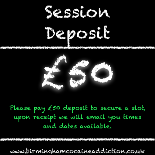 cocaine treatment in Birmingham with hypnotherapy